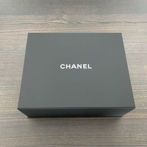 Authentic Chanel Medium Magnetic Closure Box